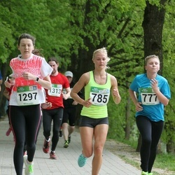 Tartu Kevadjooks - Rait Veevo (777), Engeli Vennik (785), Anna Klugman (1297)