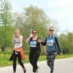Tartu Kevadjooks - Karin Parts (5098), Kirsi Marja Tsakuhhin (5099), Aet Variksaar (5251)