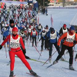 29. Viru Maraton - Virge Sinijärv (2029), Aivo Paumann (2038), Tuuli Mizer (2070), Aare Kiik (2129), Toomas Unt (2184)