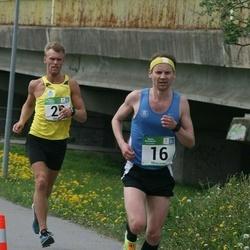 Tartu Kevadjooks - Mart Andresson (16), Ago Veilberg (25)