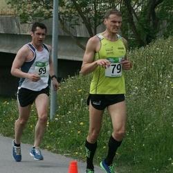 Tartu Kevadjooks - Erkki Ehasalu (79), Aare Kutsar (99)
