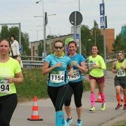 Tartu Kevadjooks - Annemari Rammo (694), Maila Vahtra (1154), Heli Eerik (1409)