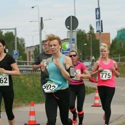Tartu Kevadjooks - Kristina Metsanurk (662), Birgit Lausing (775), Raili Rebane (903)