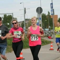 Tartu Kevadjooks - Birgit Lausing (775), Kristel Taits (1268), Endre Jukk (1269)