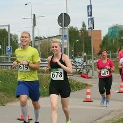 Tartu Kevadjooks - Kristel Kruuser (678), Sander Sildver (679)