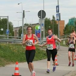 Tartu Kevadjooks - Anna Semenas (683), Maila Käos (952)