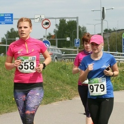 Tartu Kevadjooks - Triin Sikkal (558), Annika Tennokese (979)