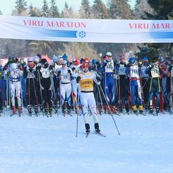 29. Viru Maraton - Andres Kollo (1), Andre Mets (7), Allar Soo (12), Peeter Kirss (20), Eno Vahtra (25), Eeri Vahtra (80), Kristjan Oolo (751), Martin Remmelg (843)