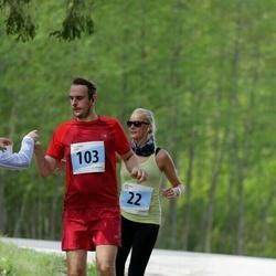MyFitness Viimsi Jooks - Annika Vardja (22), Alo Viirmaa (103)