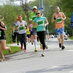 MyFitness Viimsi Jooks - Kaido Kask (128), Elina Praakel (208), Anastasia Pikaleva (222), Liia Ringo (251)