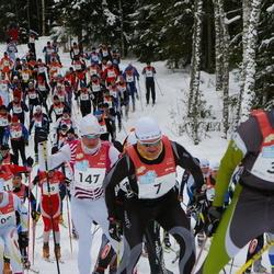 RMK Kõrvemaa Suusamaraton - Virgo Karu (7), Bert Tippi (34), Erki Pütsep (147)
