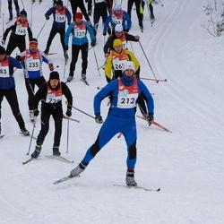 RMK Kõrvemaa Suusamaraton - Henri Rüüsak (183), Carlo Rebane (212), Ando Allik (235)