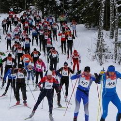 RMK Kõrvemaa Suusamaraton - Aare Kuuseoks (386), Rannar Jantson (390), Avo Vaher (425), Tiit Voodla (459), Ivo Tupits (468)