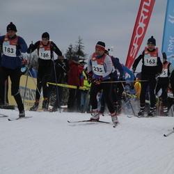 RMK Kõrvemaa Suusamaraton - Priit Puusepp (163), Henri Rüüsak (183), Aksel Puusepp (186), Ando Allik (235)