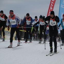 RMK Kõrvemaa Suusamaraton - Vladimir Baskakov (158), Ingvar Mägi (228), Ando Allik (235), Priit Kingo (237)