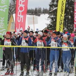 RMK Kõrvemaa Suusamaraton - Rein Ruusalu (311), Roland Toome (375), Aare Kuuseoks (386), Guido Salumäe (484), Veiko Artel (513)