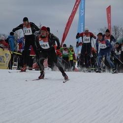 RMK Kõrvemaa Suusamaraton - Aare Kuuseoks (386), Ivo Tupits (468), Guido Salumäe (484), Veiko Artel (513)