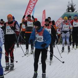 RMK Kõrvemaa Suusamaraton - Marco Haas (310), Joonas Kundla (342), Artur Raichmann (377), Targo Raus (545)