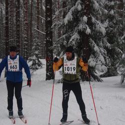 15. Alutaguse Maraton - Taivo Tolli (663), Björn Puna (1019)