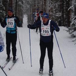 15. Alutaguse Maraton - Tiit Vaasna (703), Arnold Kannike (755)