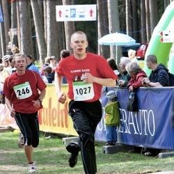 SEB 27. Tartu Jooksumaraton - Andre Pukk (246), Ergo Selgis (1027)