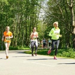 SEB 29. Maijooks - Darja Slavinskaja (604), Anna Maria Raspel (635), Lilli Gross (716)