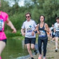 45. jooks ümber Harku järve - Meelis Kitsing (400), Birgitti Pilvet (571)