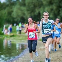 45. jooks ümber Harku järve - Katrin Lohk (475), Annika Veisson (724)