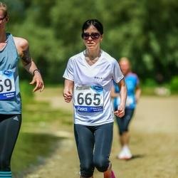 45. jooks ümber Harku järve - Natalja Tamming (665)