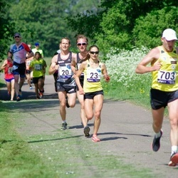 45. jooks ümber Harku järve - Kaisa Kukk (23), Kait Vahter (703)