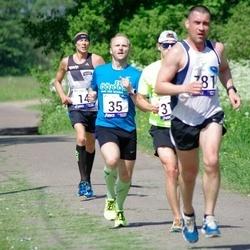 45. jooks ümber Harku järve - Priit Parts (35), Aare Kutsar (781)