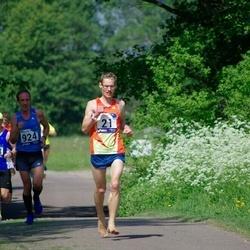 45. jooks ümber Harku järve - Gunnar Kingo (21), Mardo Lundver (483), Lauri Luik (924)