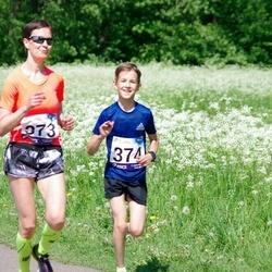 45. jooks ümber Harku järve - Edit Kannel (373)