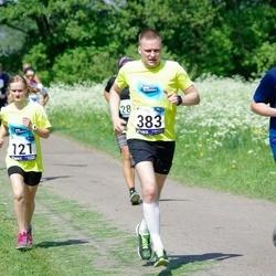 45. jooks ümber Harku järve - Helena Riin Plado (121), Urmo Karu (383)