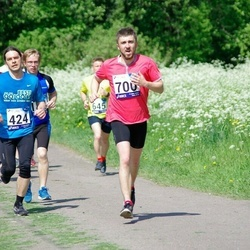 45. jooks ümber Harku järve - Karel Krist (424), Teet Uusmaa (700)