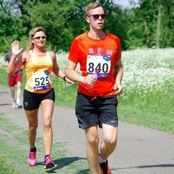 45. jooks ümber Harku järve - Mare Mändla (525), Tarvo Toom (840)