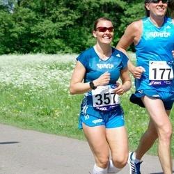 45. jooks ümber Harku järve - Maris Kajari (357)