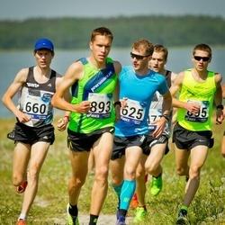 45. jooks ümber Harku järve - Morten Sätha (625), Taavi Tambur (660), Rauno Laumets (893)