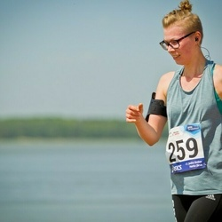 45. jooks ümber Harku järve - Britmarii Kroon (259)