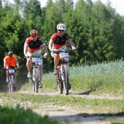 Lähte Tartu Ülikooli Kliinikumi Lastefondi Rattamaraton - Ago Arro (3008), Kadri Bauman (3011)