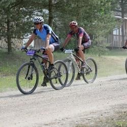 Lähte Tartu Ülikooli Kliinikumi Lastefondi Rattamaraton - Aare Piire (229), Raul Talumaa (559), Taivo Luusepp (2453)
