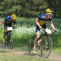 Lähte Tartu Ülikooli Kliinikumi Lastefondi Rattamaraton - Caspar Austa (1), Henno Puu (15)