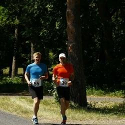 Hiiumaa VI jooksumaraton - Ojars Leja (39), Ninn Allar (39), Aigro Aiko (55)