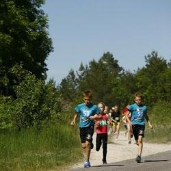 Hiiumaa VI jooksumaraton - Kastein Tiina (50), Treiel Urmas (51)