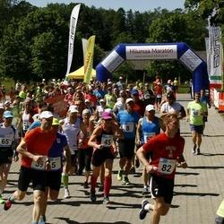 Hiiumaa VI jooksumaraton - Virje Valdna (37), Ingel Tärk (37), Jõeleht Aivo (37), Kaarel Kuslap (37), Siiri Talts (45), Sven Aigar Tammeveski (45), Laanbek Eha (45), Siim Leisalu (45), Riepula Pertti (65), Sisas Markus (82)