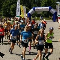 Hiiumaa VI jooksumaraton - Andres Ploom (4), Sinijärv Hanna (4), Imre Viin (4), Annabel Tiiksaar (15), Valdo Aedmäe (15), Laht Stina (15), Allan-Peeter Jaaska (15), Eller Mart (54), Aigro Aiko (55), Koppel Marika (57)