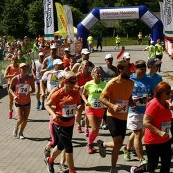 Hiiumaa VI jooksumaraton - Anelle Jakobson (23), Jaan Harak (23), Aav Vaige (23), Reijo Viinonen (44), Lya Uibo (44), Paaso-Rantala Ritva (44), Ain Kurvits (44), Jakobson Age (52), Tamm Rutt (74)