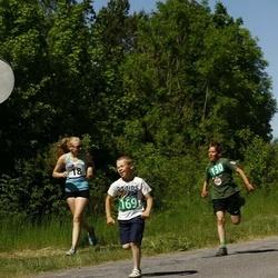 Hiiumaa VI jooksumaraton - Keira Kaljurand (18), Saard Taavi (18), Rein Pärn (18)