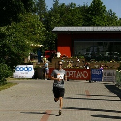 Hiiumaa VI jooksumaraton - Ojars Leja (39), Ninn Allar (39)