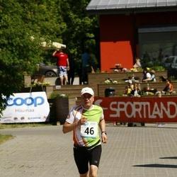 Hiiumaa VI jooksumaraton - Dan Lukas (46), Liik Peeter (46), Arvi Suur (46)